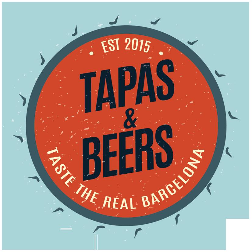Tapas & Beers Logo orange